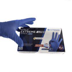 Guantes nitrilo azul HR13