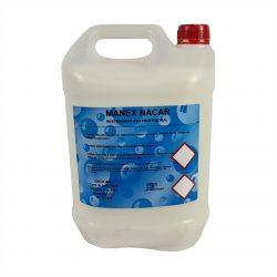 Jabón de manos Manex Nacar para un eficiente lavado de estas.