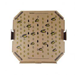 Caja para transportar paellas, frontal