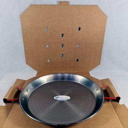 Caja para transportar paellas