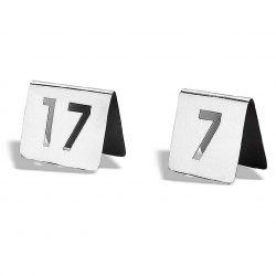 Placa número de mesa