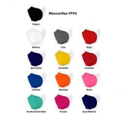 Mascarilla FFP2 de tela